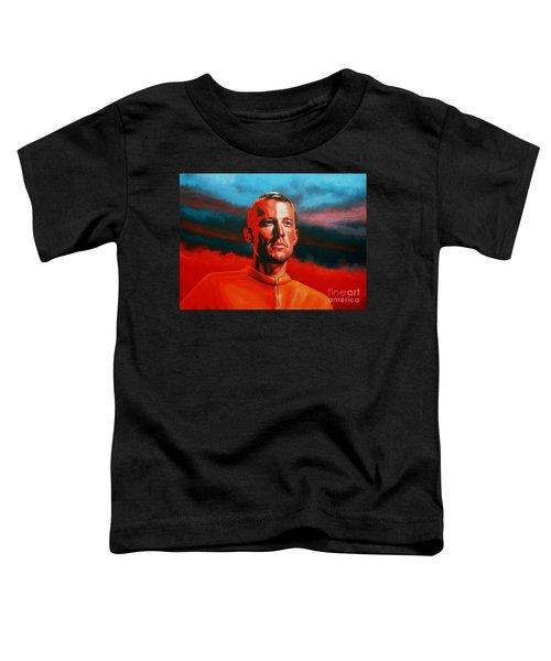Lance Armstrong 2 Toddler T-Shirt
