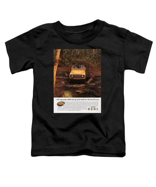 Land Rover Defender 90 Ad Toddler T-Shirt