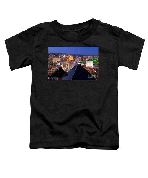 Las Vegas Skyline Toddler T-Shirt