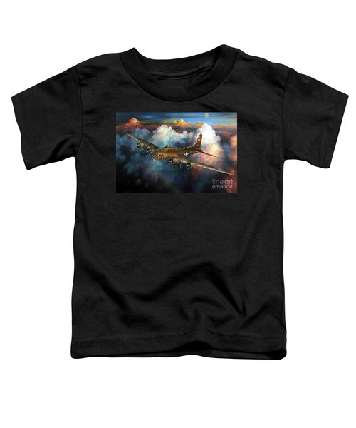 Last Flight For Nine-o-nine Toddler T-Shirt by Randy Green
