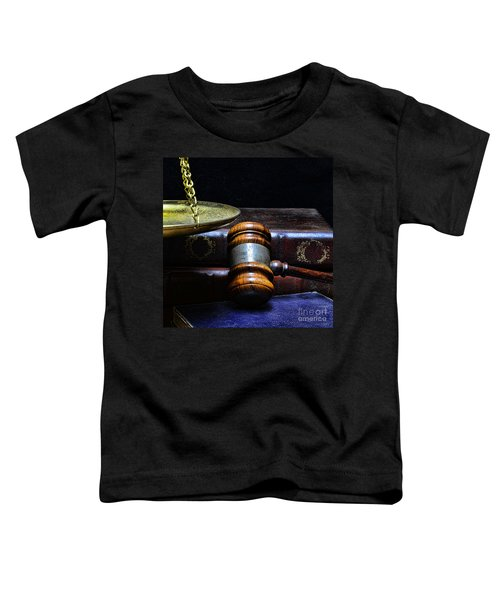 Lawyer - Books Of Justice Toddler T-Shirt