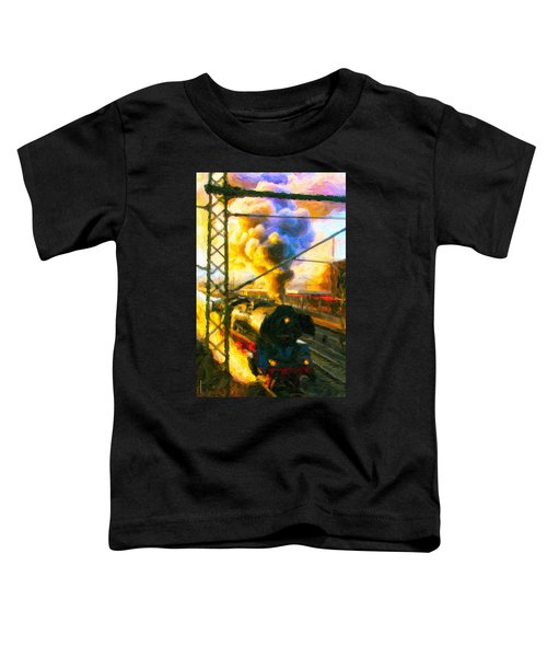 Leaving The Station Toddler T-Shirt