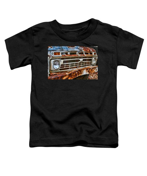 Left To Rust By Diana Sainz Toddler T-Shirt