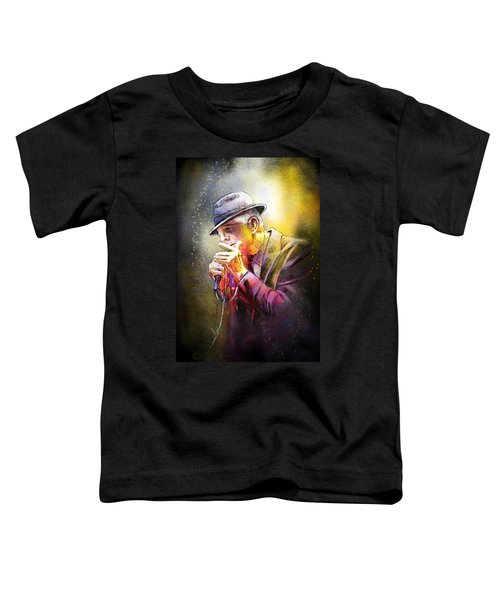 Leonard Cohen 02 Toddler T-Shirt