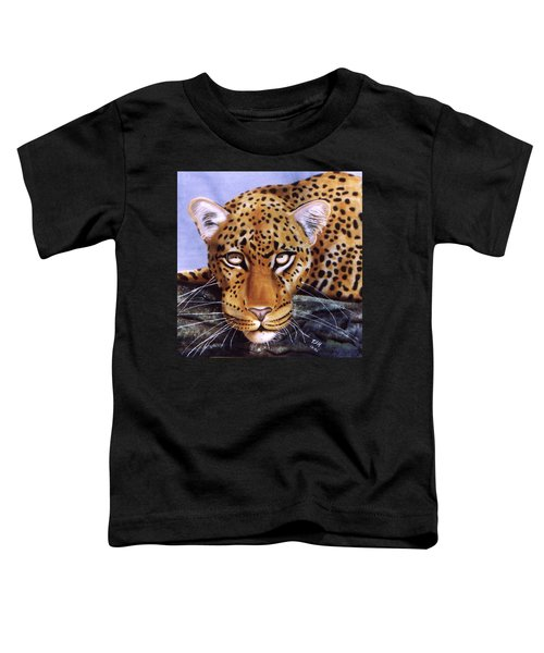 Leopard In A Tree Toddler T-Shirt