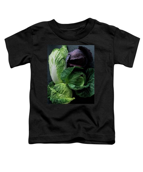Lettuce Toddler T-Shirt by Romulo Yanes