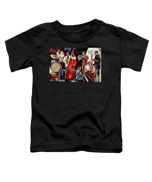 Living Jazz Toddler T-Shirt