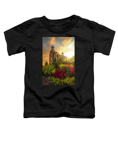 Logan Temple Garden Toddler T-Shirt