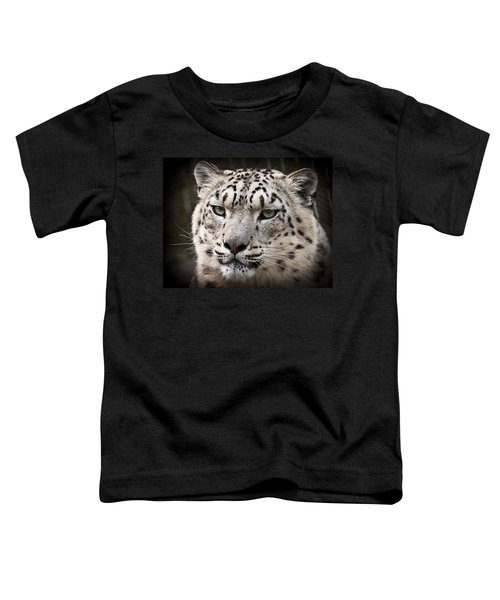 Look Into My Leopard Eyes Toddler T-Shirt
