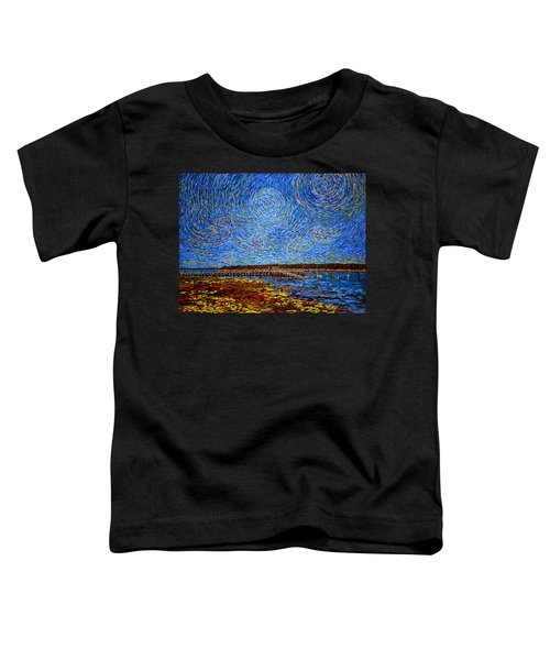 Looking East - St Andrews Wharf 2013 Toddler T-Shirt