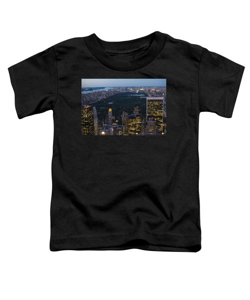 Looking From Top Of The Rock Toddler T-Shirt