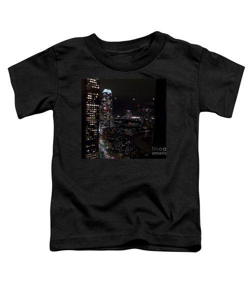 Los Angeles Nightscape Toddler T-Shirt