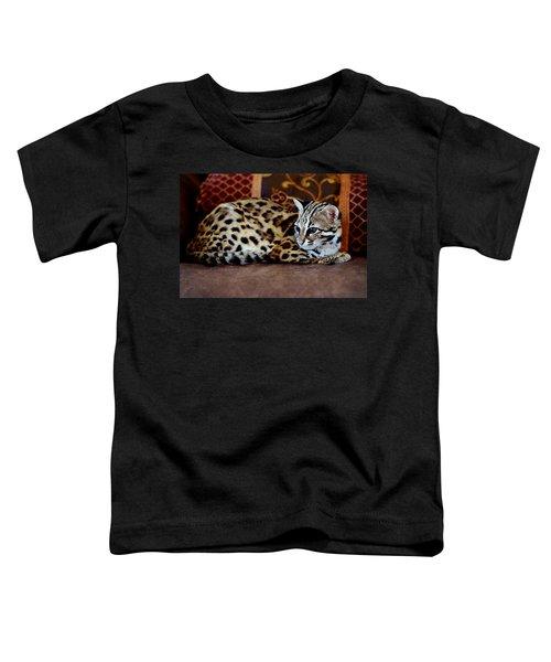 Lounging Leopard Toddler T-Shirt
