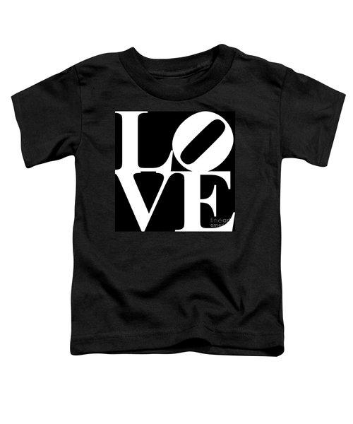 Love 20130707 White Black Toddler T-Shirt