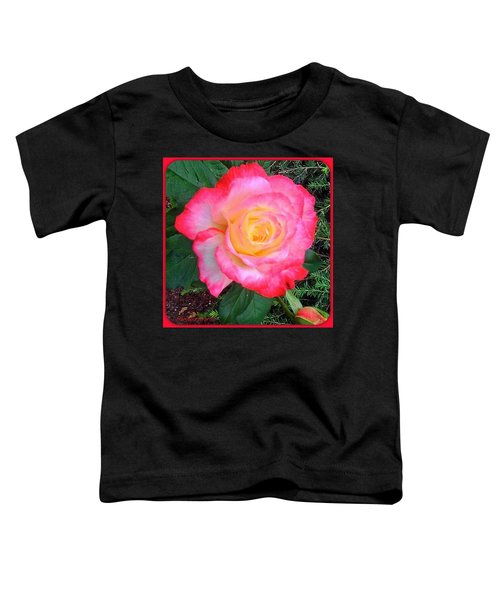Love's First Blush - A Little Red And Toddler T-Shirt