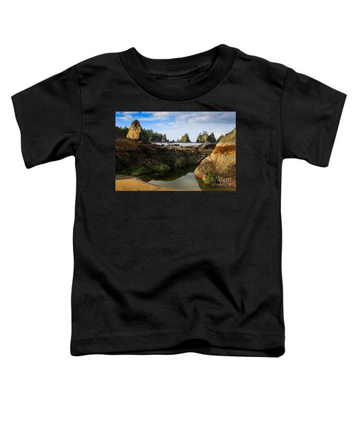 Low Tide At The Arches Toddler T-Shirt