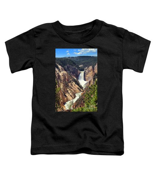 Lower Falls Of Yellowstone Toddler T-Shirt