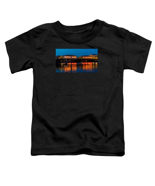 Lower Trenton Bridge Toddler T-Shirt
