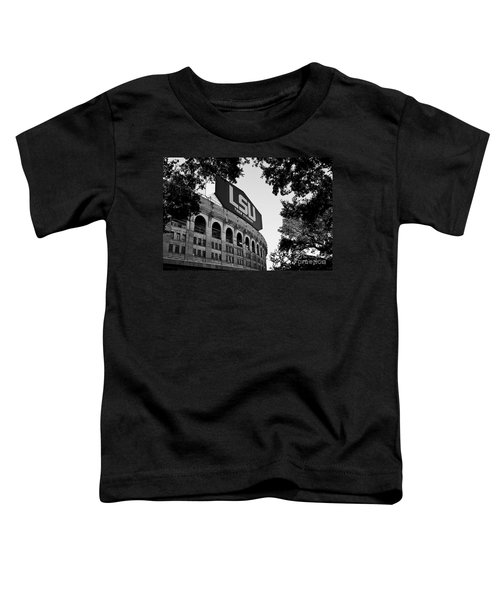 Lsu Through The Oaks Toddler T-Shirt by Scott Pellegrin