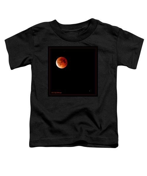 Lunar Eclipse April 15  2014 Toddler T-Shirt