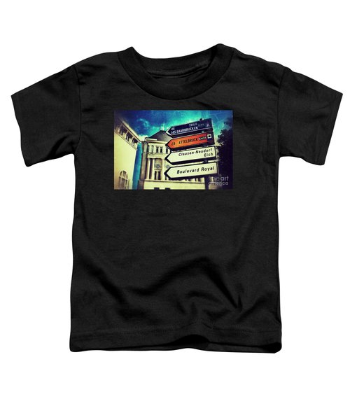 Luxembourg City Toddler T-Shirt