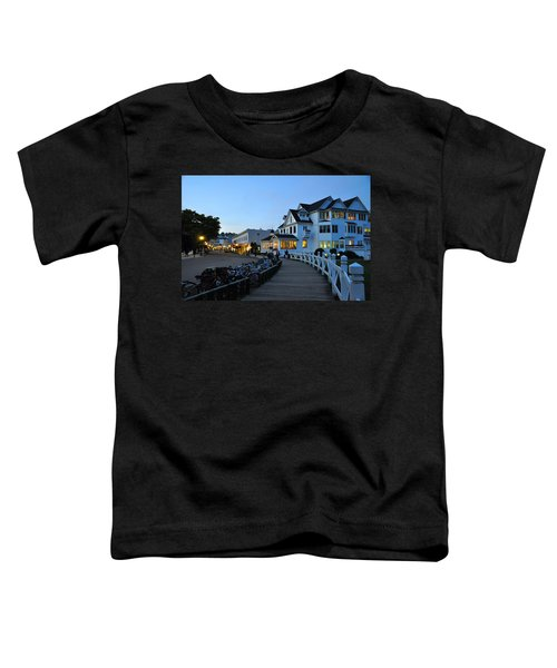 Mackinac Island At Dusk Toddler T-Shirt