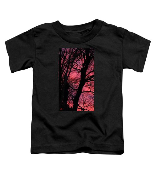 Toddler T-Shirt featuring the photograph Magic Sunset  by Colette V Hera  Guggenheim