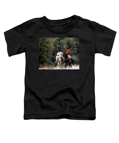 Mail Handoff Toddler T-Shirt