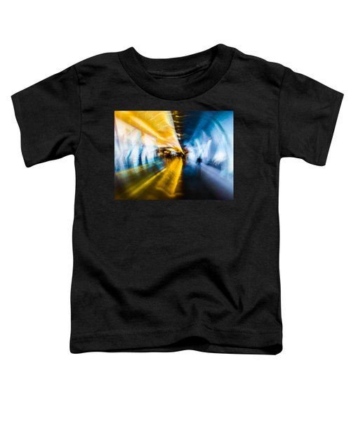 Main Access Tunnel Nyryx Station Toddler T-Shirt by Alex Lapidus