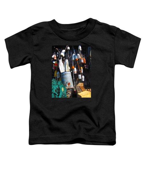 Maine Wall Art Toddler T-Shirt