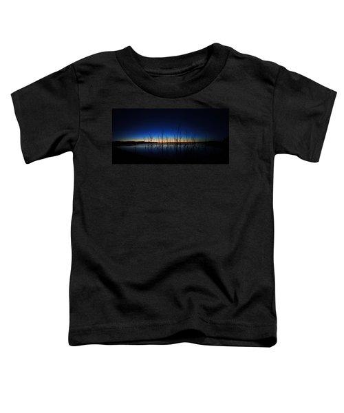 Manasquan Reservoir At Dawn Toddler T-Shirt