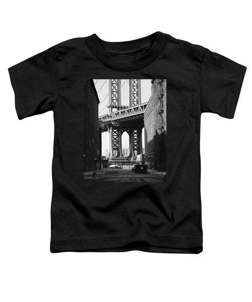 Manhattan Bridge Toddler T-Shirt