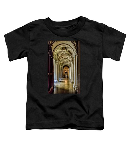 Mansion Hallway Toddler T-Shirt