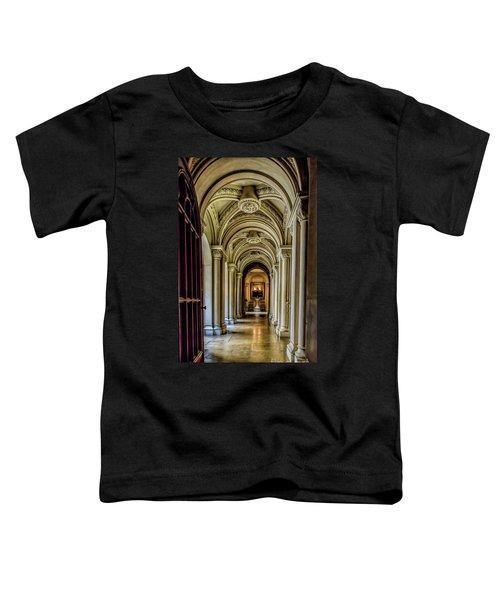 Mansion Hallway Toddler T-Shirt