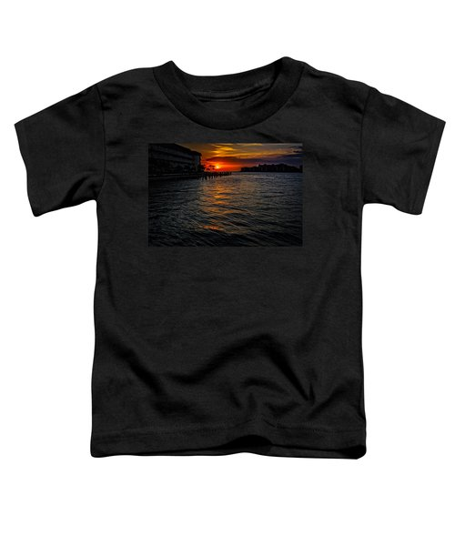 Toddler T-Shirt featuring the photograph Marco Island Sunset 43 by Mark Myhaver