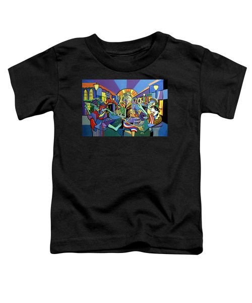 Mardi Gras Lets Get The Party Started Toddler T-Shirt