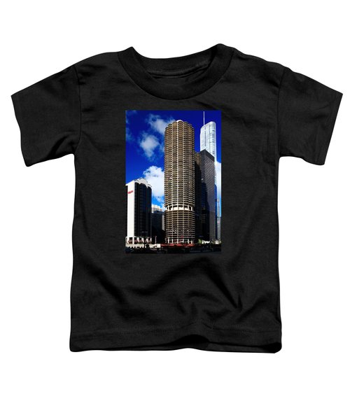 Marina City Corncob Tower Toddler T-Shirt