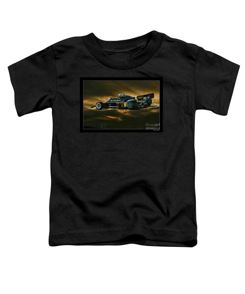 Mario Andretti John Player Special Lotus 79  Toddler T-Shirt