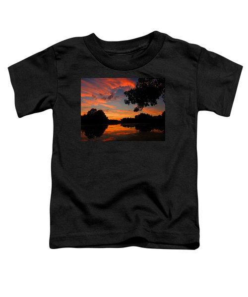 Marlu Lake At Sunset Toddler T-Shirt
