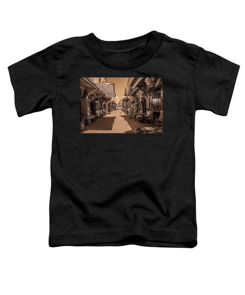 Marrackech Souk At Noon Toddler T-Shirt
