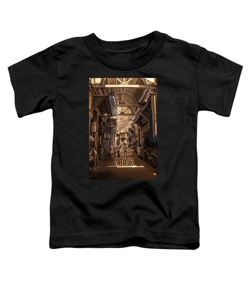Marrakech Souk With Children Toddler T-Shirt