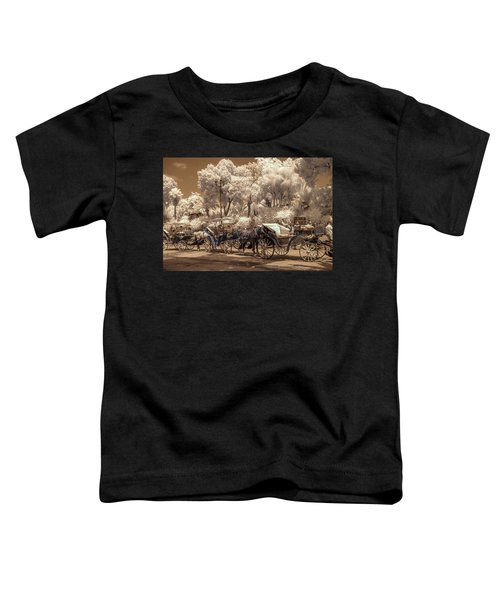 Marrakech Street Life - Horses Toddler T-Shirt