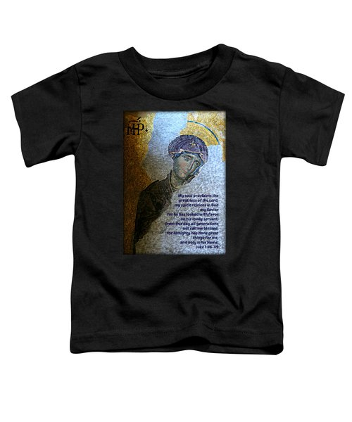 Mary's Magnificat Toddler T-Shirt
