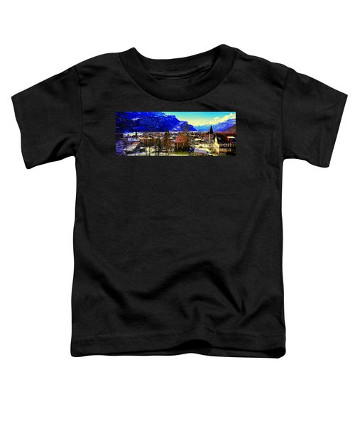 Meiringen Switzerland Alpine Village Toddler T-Shirt