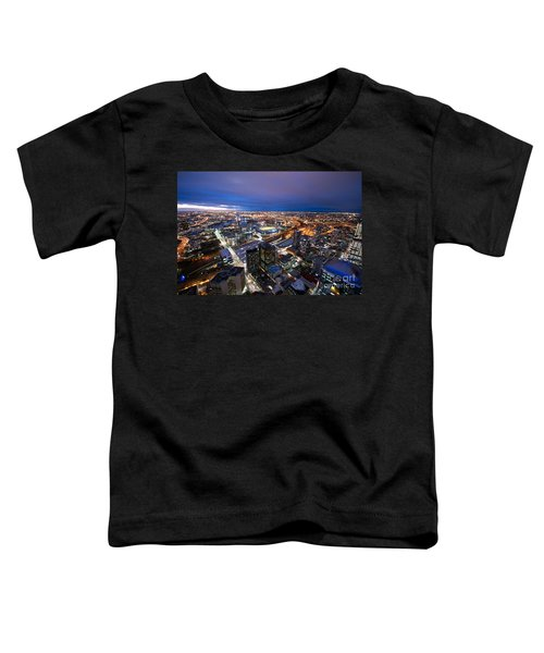 Melbourne At Night Toddler T-Shirt
