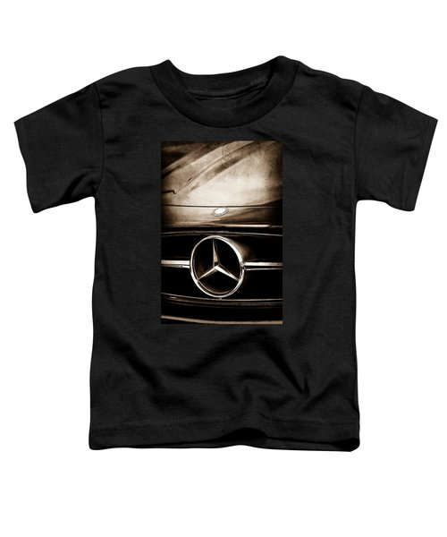 Mercedes-benz Grille Emblem Toddler T-Shirt