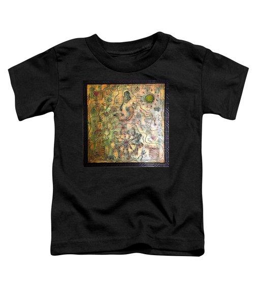 Mermaid Goddess By Alfredo Garcia Toddler T-Shirt