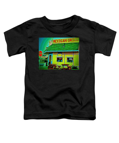 Mexican Grill Toddler T-Shirt