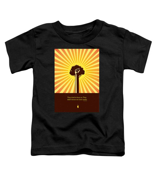 Mexican Proverb Minimalist Poster Toddler T-Shirt