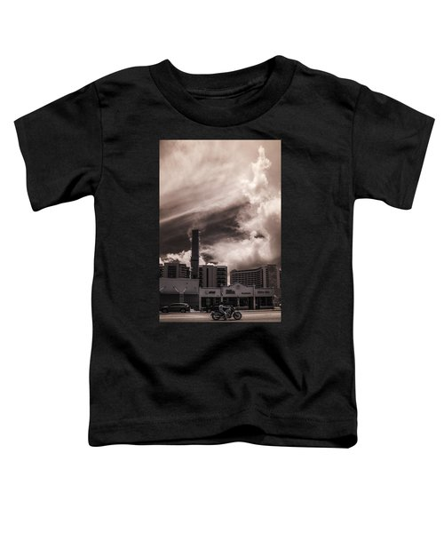 Miami Beach Sky Toddler T-Shirt